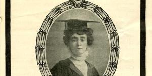Image of Emily Wilding Davison from Parliamentary Archives